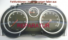 Reparaturservice Opel Corsa D Kombiinstrument Tacho Analoganzeige