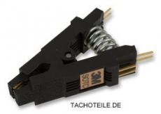 3M IC-Prüfklammer, SOIC, 8 Vergoldete Kontakte