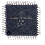 Processor MC68HC908AZ60 MC68HC908AZ60CFU 2J74Y